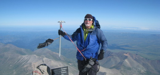 Alan at the summit of Mt. Elbrus at 18,583 feet