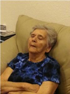 Mamá descansando, Junio 2013