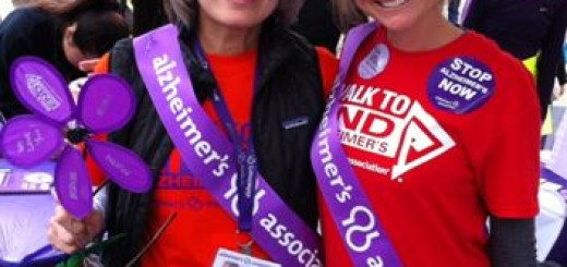 With Kimberly in the Advocacy booth, just before the walk began.