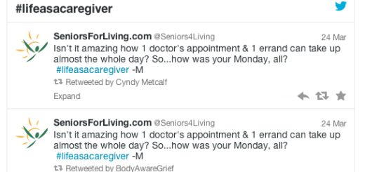 life as a caregiver tweetathon