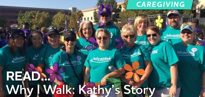Why I Walk: Kathy's Story